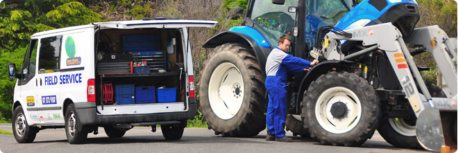 Field Service, Parts & Product Support - R&R Tractors Te Puke