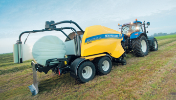 New Holland Combi Baler Wrapper