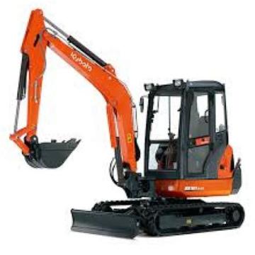 Excavators 3 to 5 T KX Range